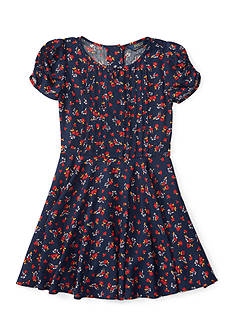 Ralph Lauren Childrenswear Cotton Floral Dress Toddler Girl