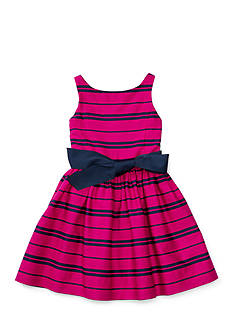 Ralph Lauren Childrenswear Sateen Fit-and-Flare Dress Toddler Girl