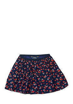 Ralph Lauren Childrenswear Cotton Flounce Skirt Toddler Girl