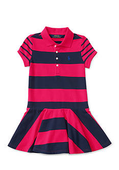 Ralph Lauren Childrenswear Stretch Mix and Match Dress - Toddler Girl