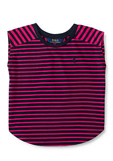 Ralph Lauren Childrenswear Striped Jersey Tee Toddler Girls
