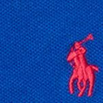 Baby & Kids: Short Sleeve Sale: Deep Royal Ralph Lauren Childrenswear Stretch Mesh Polo Top - Toddler Girl