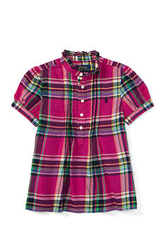 Ralph Lauren Childrenswear Featherweight Twill Shirt - Toddler Girl