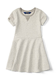 Ralph Lauren Childrenswear Terry Fleece Dress Toddler Girls