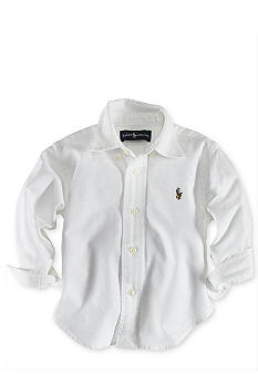 Ralph Lauren Childrenswear Solid Oxford Shirt - Infant