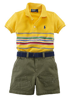 Ralph Lauren Childrenswear Safari Short Set