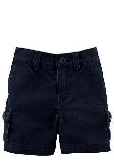 Ralph Lauren Childrenswear Navy Flat Front Short