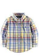 Ralph Lauren Childrenswear Plaid Blake Shirt