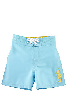 Ralph Lauren Childrenswear Signature Big Pony Swim Trunk