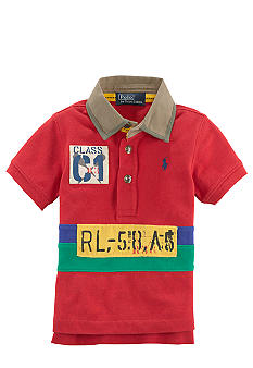 Ralph Lauren Childrenswear Heritage Style Cotton Polo