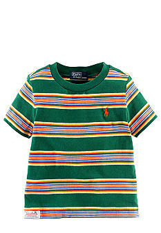 Ralph Lauren Childrenswear Striped Preppy Tee