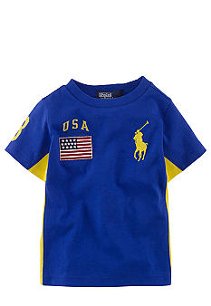 Ralph Lauren Childrenswear USA Colorbock Shirt