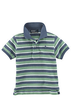 Ralph Lauren Childrenswear Contrast Stripes Polo
