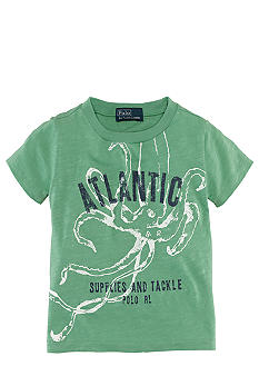 Ralph Lauren Childrenswear Marine Screenprint Tee