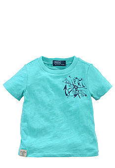 Ralph Lauren Childrenswear Marine Themed Graphic Tee