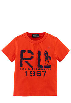 Ralph Lauren Childrenswear Logo Screenprint Tee