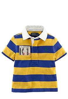Ralph Lauren Childrenswear Striped Rubgy Polo