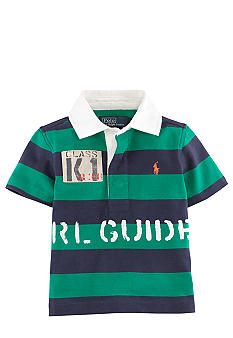 Ralph Lauren Childrenswear Striped Jersey Rugby Polo
