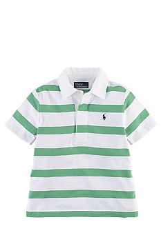 Ralph Lauren Childrenswear Striped Rugby Polo