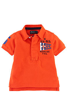 Ralph Lauren Childrenswear Coastal Patrol Graphics Polo