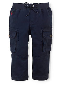 Ralph Lauren Childrenswear Sporty Cargo Pull-On Pants