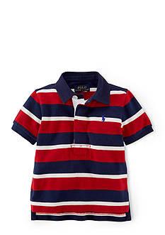 Ralph Lauren Childrenswear Striped Rugby Shirt