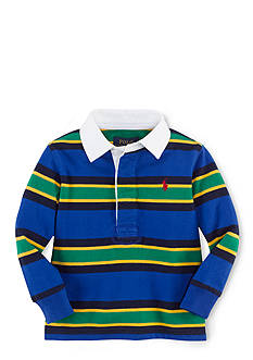 Ralph Lauren Childrenswear Multi-Striped Rugby Shirt