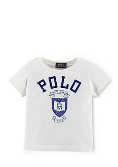 Ralph Lauren Childrenswear Icon Short Sleeve Graphic Tee Shirt