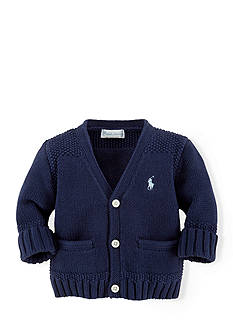 Ralph Lauren Childrenswear Long Sleeve V-Neck Sweater