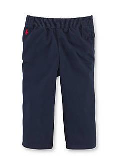 Ralph Lauren Childrenswear Solid Cotton Twill Shorts