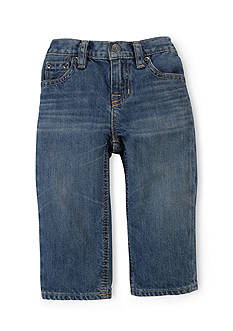 Ralph Lauren Childrenswear Slim Fit Denim Pants