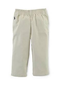 Ralph Lauren Childrenswear Pull-On Flat Front Pants