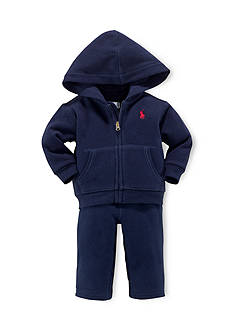 Ralph Lauren Childrenswear 2-Piece Hoodie and Soft Pants Set
