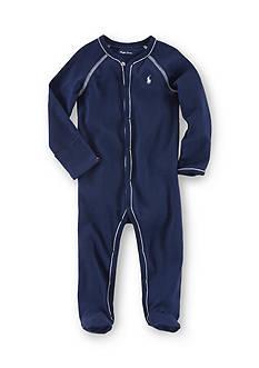 Ralph Lauren Childrenswear Navy Solid Coverall
