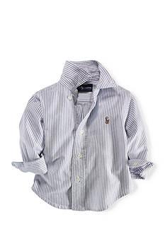 Ralph Lauren Childrenswear Striped Oxford Shirt