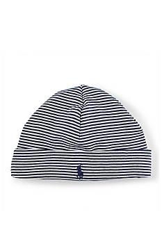Ralph Lauren Childrenswear Stripe Beanie Toddler Boys
