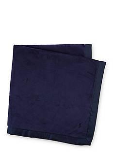 Ralph Lauren Childrenswear Plush Baby Blanket