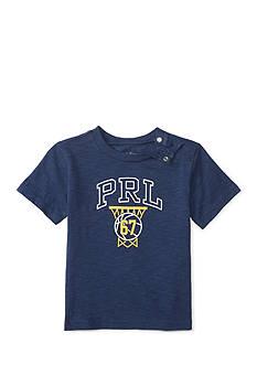 Ralph Lauren Childrenswear Jersey Graphic Tee Baby/Infant Boy