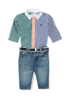 Ralph Lauren Childrenswear Denim Pants Set - Baby/Infant Boy