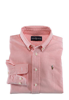 Ralph Lauren Childrenswear Blaire Oxford Woven - Toddler Boy
