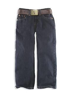 Ralph Lauren Childrenswear Toddler Boy Vestry Wash Jean