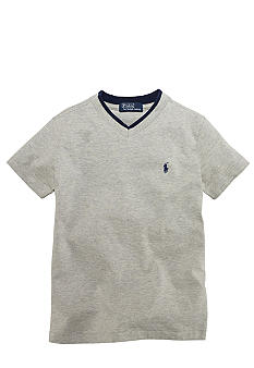 Ralph Lauren Childrenswear V-Neck Tee Toddler Boys
