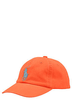Ralph Lauren Childrenswear Big Pony Player Classic Cap Toddler Boys