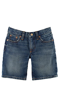 Ralph Lauren Childrenswear Classic Tookes-Wash Denim Short Toddler Boy