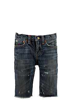 Ralph Lauren Childrenswear Slouch Jean Short Toddler Boy
