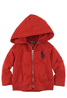 Ralph Lauren Childrenswear Hooded Windbreaker Jacket Toddler Boys