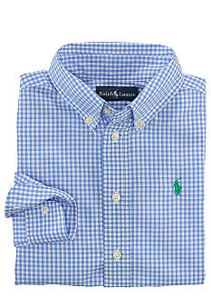 Ralph Lauren Childrenswear Button Front Woven Shirt Toddler Boys