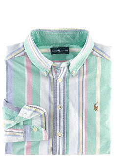 Ralph Lauren Childrenswear Blake Oxford Shirt Toddler Boys