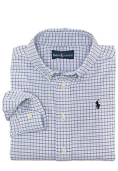 Ralph Lauren Childrenswear Plaid Oxford Shirt Toddler Boys