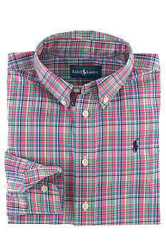 Ralph Lauren Childrenswear Plaid Button-Down Shirt Toddler Boys